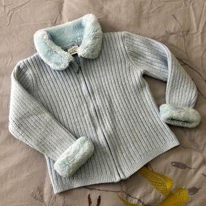 Snowy blue sweater ❄️⛄️